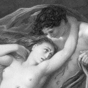 Paolo e Francesca (particolare)