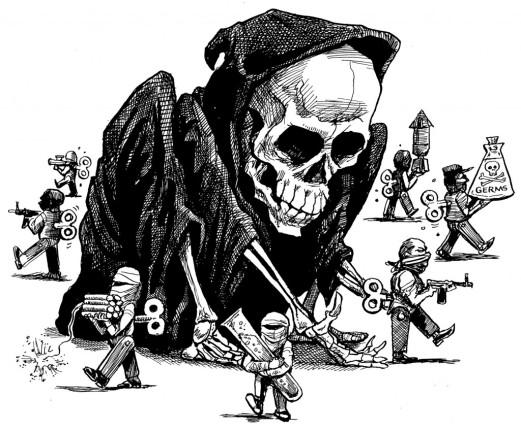 Risultato immagine per terrorismo